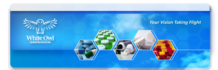 White Owl Global Services Pharmaceutical Banner